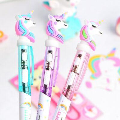 Kawaii Glowing Unicorn Cute Light Pen Stationery Supplies