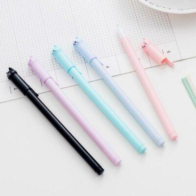 Kawaii Cat Pen 0.5mm Stationery Supplies