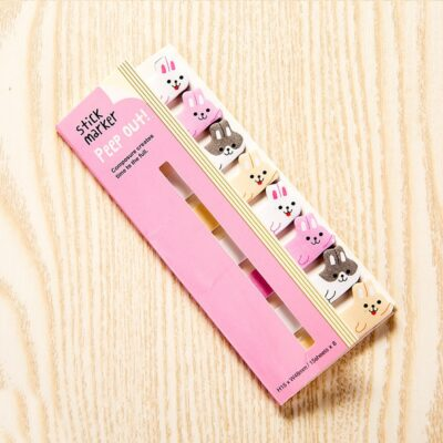 Kawaii Memo Pad Bookmarks Cute Sticky Notes Stationery