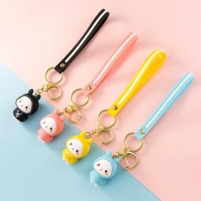 Kawaii Cute Keyring Rabbit Doll Keychain