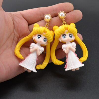 Cute Anime Sailor Moon Kawaii Earrings