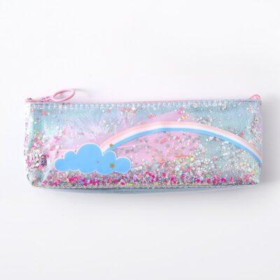 Kawaii Unicorn Rainbow Pencil Case Stationery Supplies