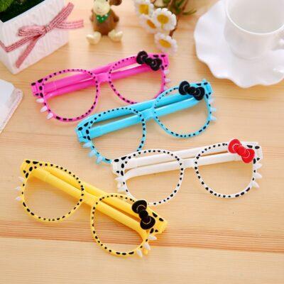 Kawaii Pen Cute 3D Glasses Stationery Supplies