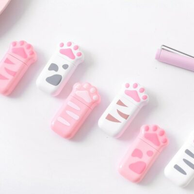 Kawaii Cat Correction Tape White Out Stationery Supplies