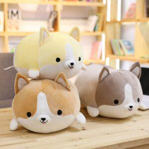 Kawaii Corgi Plush Cute Dog Stuffed Animal