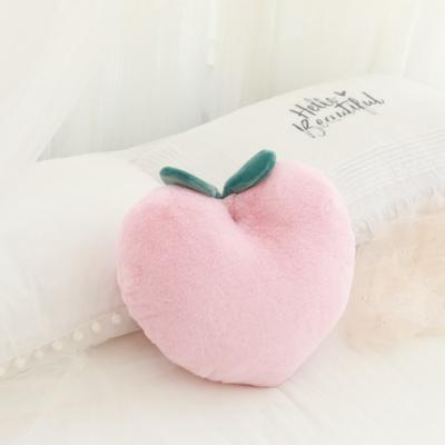 Kawaii Peach Pillow Soft Fruit Cushion