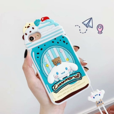 Kawaii Cute 3D ice cream my melody iphone case for 12 11 Pro XS MAX X XR 7 8 plus