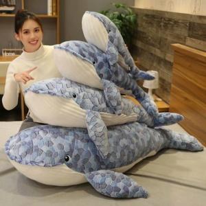 Kawaii Whale Plush Soft Shark Animal Stuffed Toy