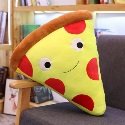 Kawaii cute hamburger ice cream french fries popcorn cake pizza cartoon plush stuffed food pillow