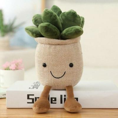 Kawaii Plushies Buddy Moonstones Flower Pot Plush Cute Stuffed Animals