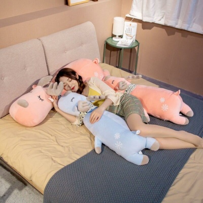 Kawaii Plushies Beamer & Arnold the Pastel Moose Cute Stuffed Animals