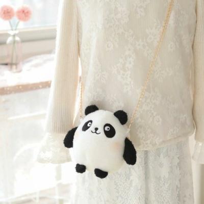 Kawaii Panda Rabbit Bag Blushing Buddies Mini Crossbody Bag