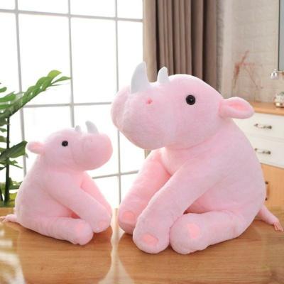 Kawaii Plushies Bobo and Coco the Rhinos Cute Stuffed Animals