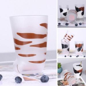 Kawaii Mug Cat Paw Shape Glass | NEW Cute Cup