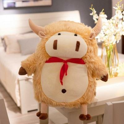 Kawaii Plushies Cattle Family Cute Stuffed Animals