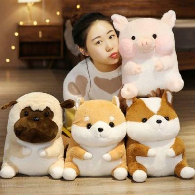 Kawaii ShibaInu Pig Hamster Chubby Animals Backpack