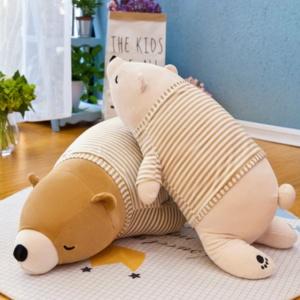 Kawaii Plushies Coca & Boba the Bears Cute Stuffed Animals