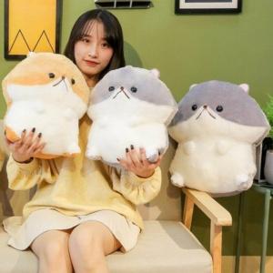 Kawaii Plushies Cuddly Hamster Friends Cute Stuffed Animals