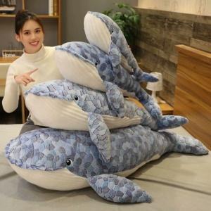 Kawaii Plushies Ed the Giant Whale Plushie Cute Stuffed Animals
