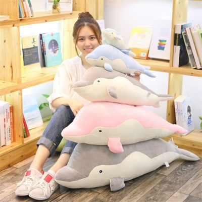 Kawaii Plushies Fin, Bubbles and Chirp the Dolphin Pod Cute Stuffed Animals