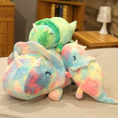 Kawaii Plushies Galaxy Triceratops Cute Stuffed Animals