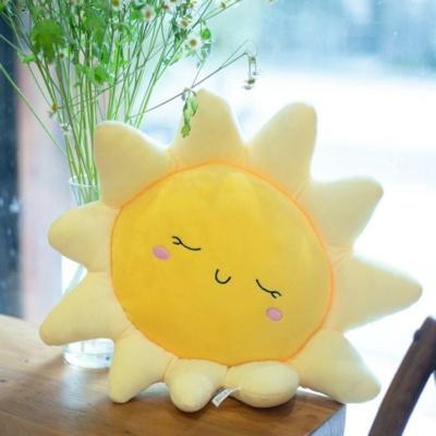 Kawaii Pillow Sleeping Sun Cute Cushion