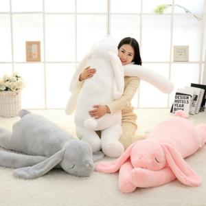 Kawaii Plushies Giant Fluffy Bunny Cute Stuffed Animals