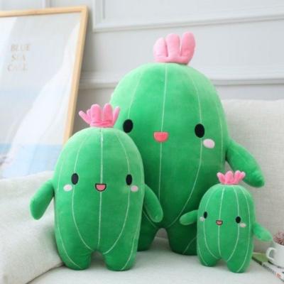 Kawaii Plushies Happy Cactus Friends Cute Stuffed Animals