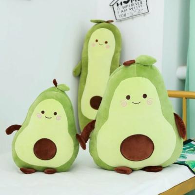 Kawaii Plushies Happy Green Avocado Cute Stuffed Animals