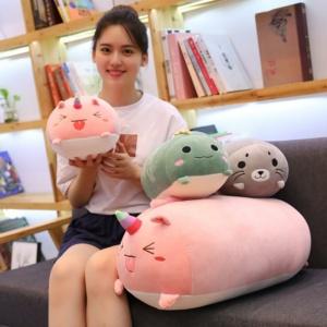 Kawaii Plushies Huge Sleeping Buddies Collection Cute Stuffed Animals