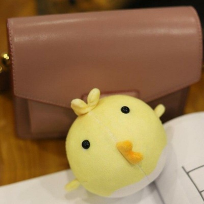 Kawaii Cute Little Yellow Chicken Mini Yolk Keychain Charm
