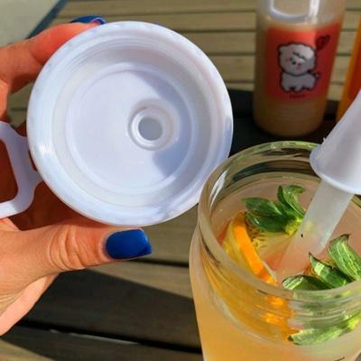 Kawaii Mug Little Sheep Frosted Water Bottle Cute Cup