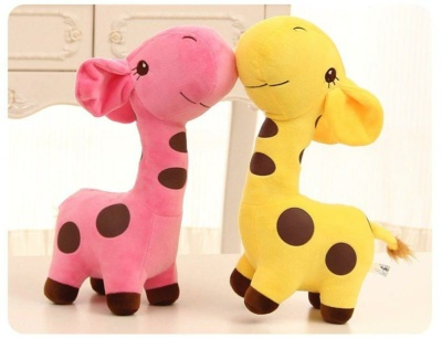 Kawaii Plushies Lollipop Giraffe Family Cute Stuffed Animals