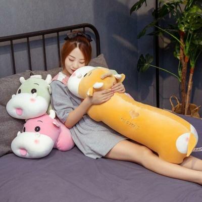 Kawaii Plushies Long Snuggly Cow Buddy Cute Stuffed Animals