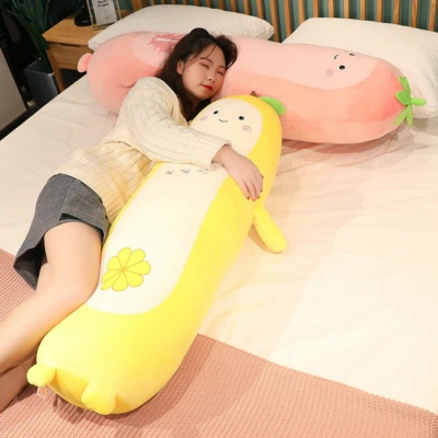 Kawaii Plushies Long Snuggly Fruits Cute Stuffed Animals