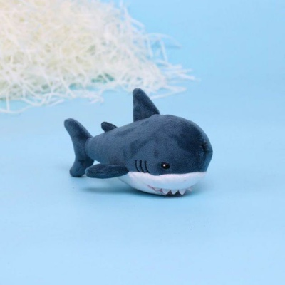 Kawaii Bruce the Shark Keychain Squishy Charm