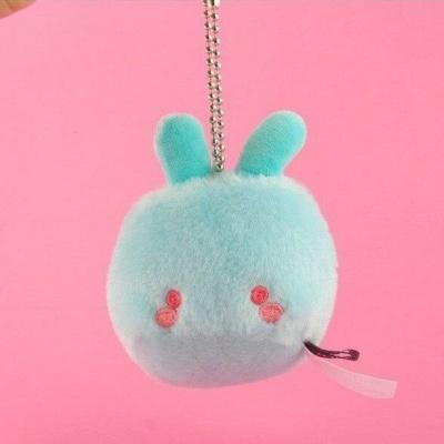 Kawaii Soft Squish Keychain Mini Fluff Monsters Charm