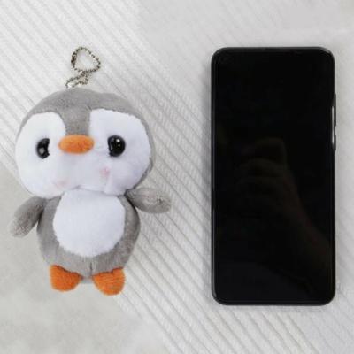 Kawaii Squishy Penguin Keychain Charm