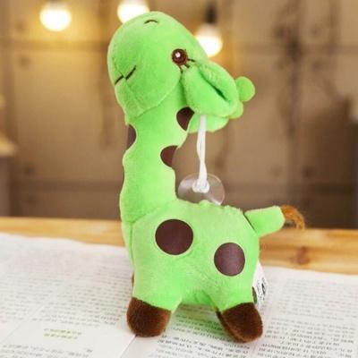 Kawaii Giraffe Keychain Soft Animal Plush Charm