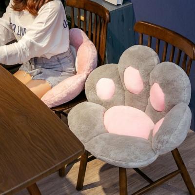 Kawaii Cat Paw Pillow Seat Cushions