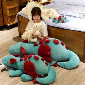 Kawaii Plushies Pete and Mira the Mighty Dragons Cute Stuffed Animals