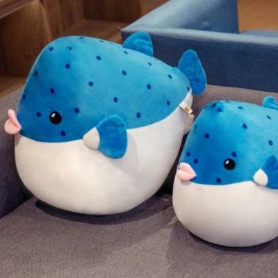 Kawaii Plushies Plumpy Pufferfish Cute Stuffed Animals