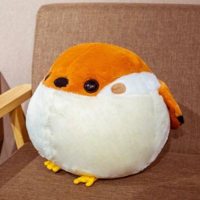 Kawaii Plushies Puffy Sparrow Balls Cute Stuffed Animals