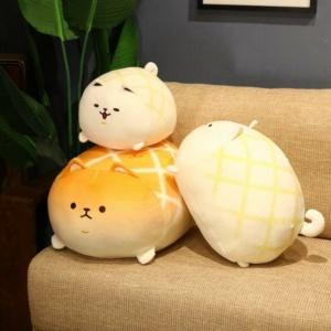 Kawaii Plushies Shiba Inu Pineapple Bun | NEW Cute Stuffed Animals