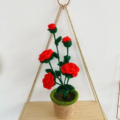 Kawaii Plushies Smiling Sunflower and Rose Pot Plush | NEW Cute Stuffed Animals