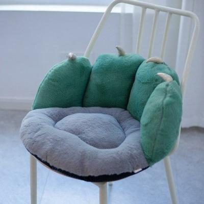 Kawaii Bear Plush Pillow Soft Bear Paw Chair Cushion