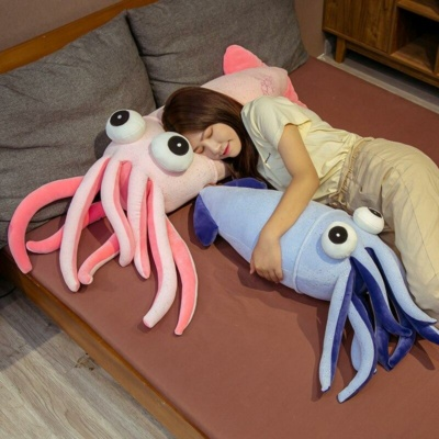 Kawaii Plushies Squiddy & Diddly the Squids Cute Stuffed Animals