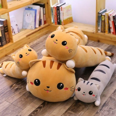 Kawaii Plushies Tabby & Earl The Long Cats Cute Stuffed Animals