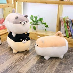 Kawaii Plushies The Angry Shiba Trio Cute Stuffed Animals