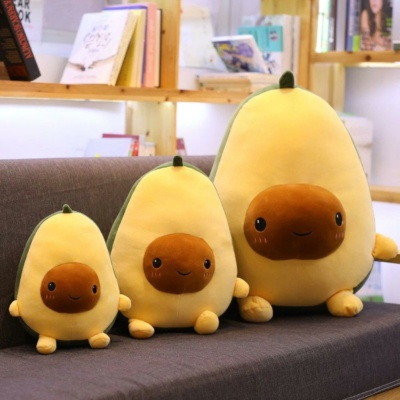 Kawaii Plushies The Awkward Avocado Cute Stuffed Animals